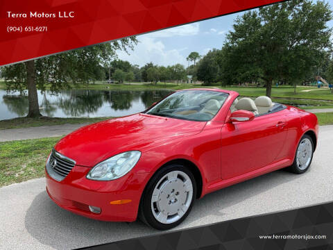 2003 Lexus SC 430 for sale at Terra Motors LLC in Jacksonville FL