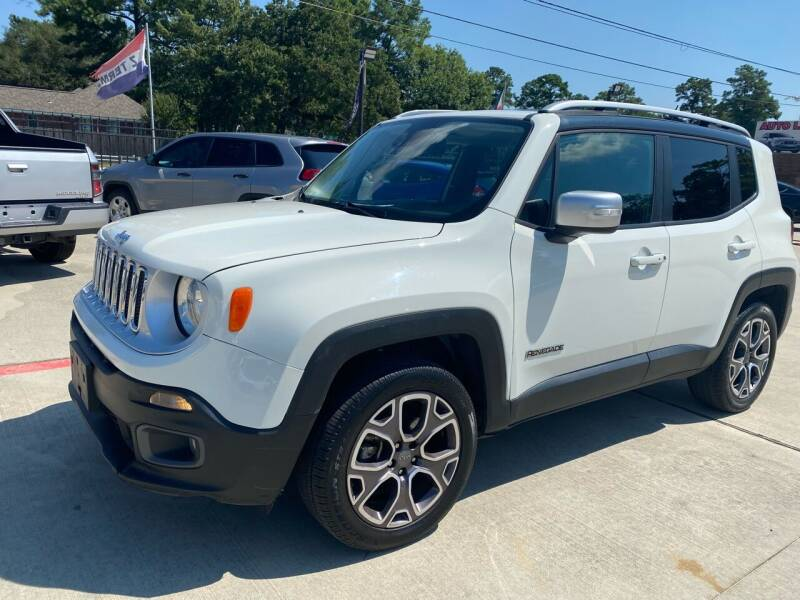 2016 Jeep Renegade for sale at Auto Land Of Texas in Cypress TX