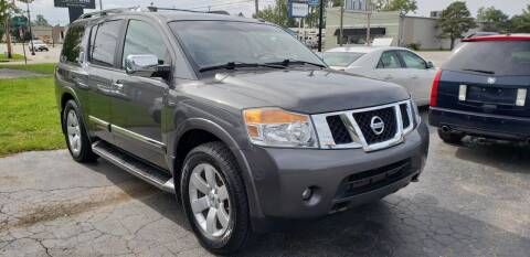 2010 Nissan Armada for sale at Van Kalker Motors in Grand Rapids MI