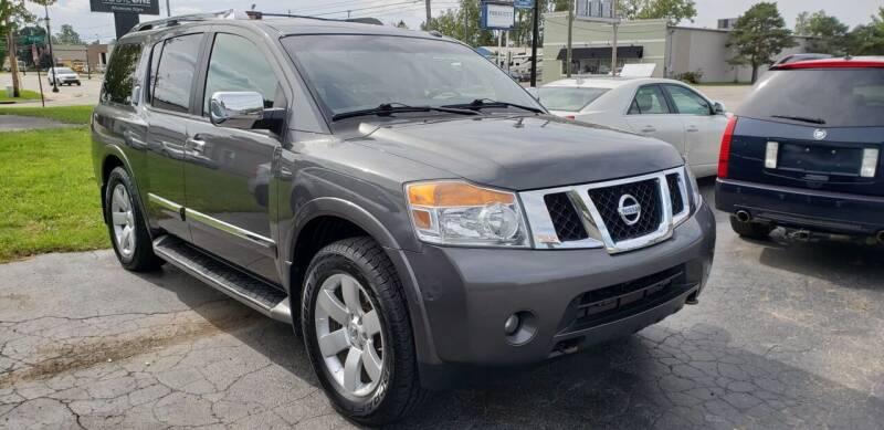2010 Nissan Armada for sale at Van Kalker Motors in Grand Rapids MI
