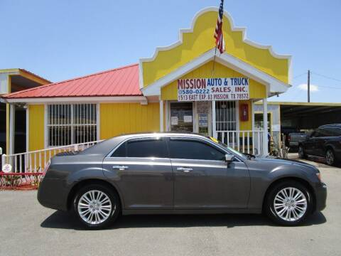 2014 Chrysler 300 for sale at Mission Auto & Truck Sales, Inc. in Mission TX