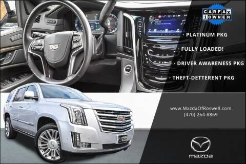 2020 Cadillac Escalade for sale at Mazda Of Roswell in Roswell GA