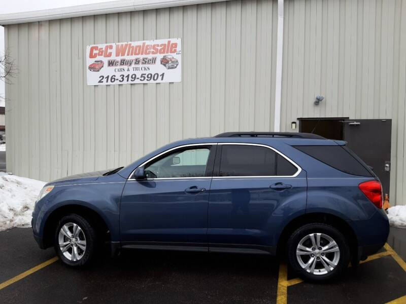 2011 Chevrolet Equinox for sale at C & C Wholesale in Cleveland OH