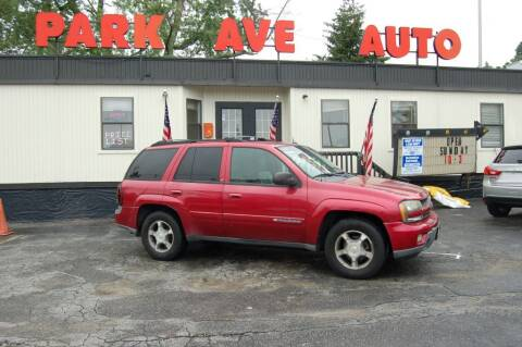 2004 Chevrolet TrailBlazer for sale at Park Ave Auto Inc. in Worcester MA