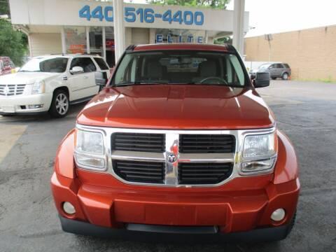 2008 Dodge Nitro for sale at Elite Auto Sales in Willowick OH