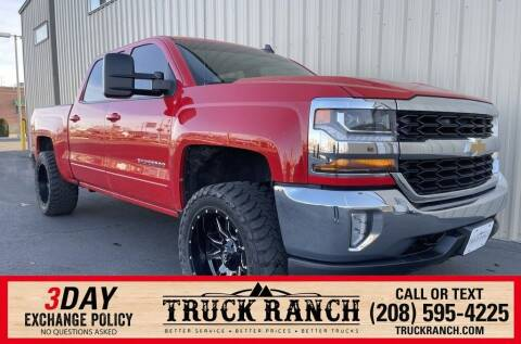 2016 Chevrolet Silverado 1500 for sale at Truck Ranch in Twin Falls ID