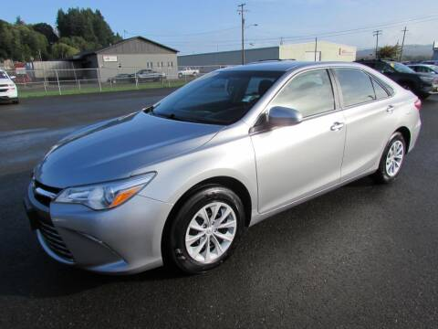 2015 Toyota Camry for sale at 101 Budget Auto Sales in Coos Bay OR