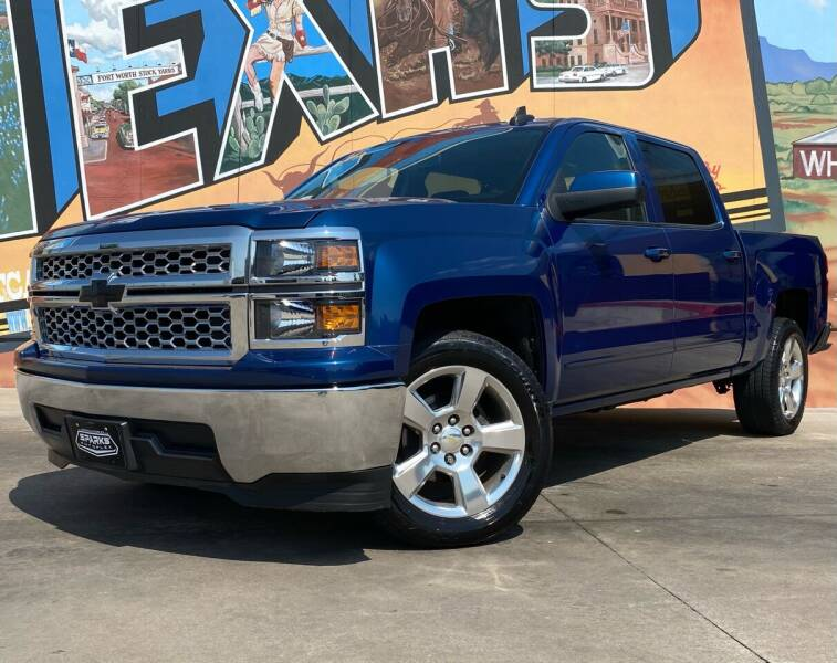 2015 Chevrolet Silverado 1500 for sale at Sparks Autoplex Inc. in Fort Worth TX