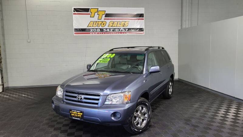 2005 Toyota Highlander for sale at TT Auto Sales LLC. in Boise ID