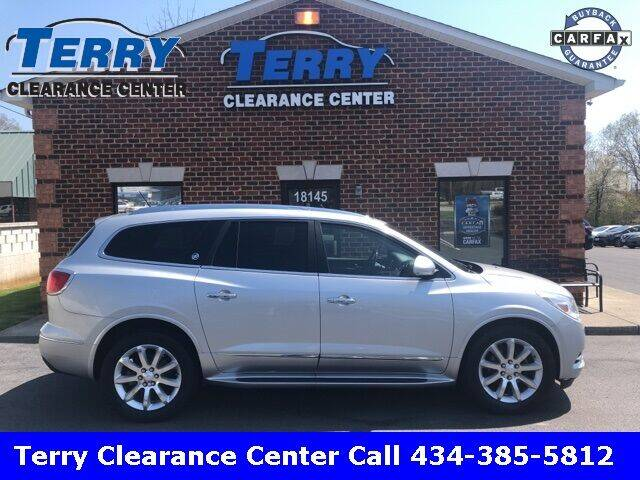 2015 Buick Enclave for sale at Terry Clearance Center in Lynchburg VA