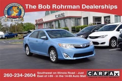 2012 Toyota Camry Hybrid for sale at BOB ROHRMAN FORT WAYNE TOYOTA in Fort Wayne IN