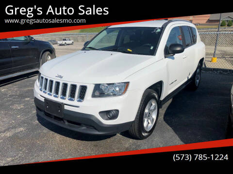 2015 Jeep Compass for sale at Greg's Auto Sales in Poplar Bluff MO