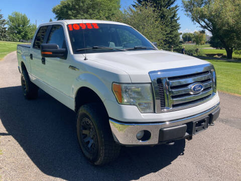 2011 Ford F-150 for sale at BELOW BOOK AUTO SALES in Idaho Falls ID
