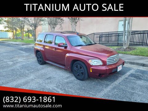 2009 Chevrolet HHR for sale at TITANIUM AUTO SALE in Houston TX