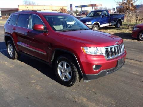 2012 Jeep Grand Cherokee for sale at Bruns & Sons Auto in Plover WI