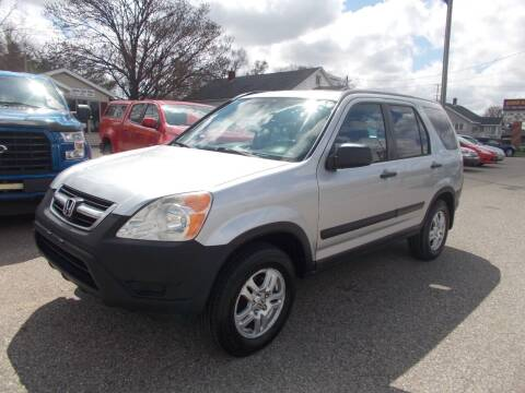 2002 Honda CR-V for sale at Jenison Auto Sales in Jenison MI