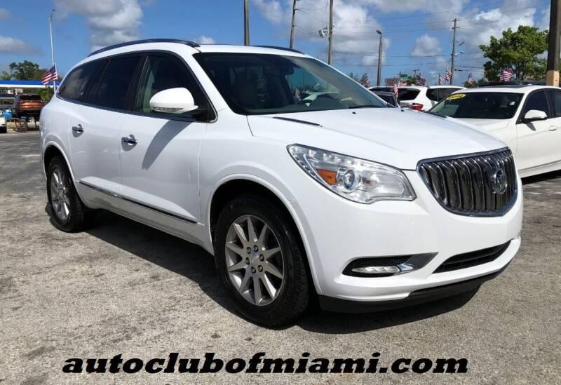 2016 Buick Enclave for sale at AUTO CLUB OF MIAMI in Miami FL