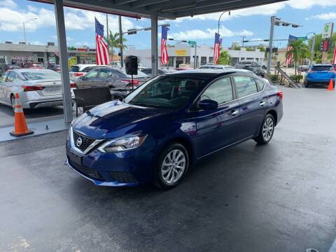 2019 Nissan Sentra for sale at American Auto Sales in Hialeah FL