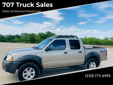 2001 Nissan Frontier for sale at 707 Truck Sales in San Antonio TX