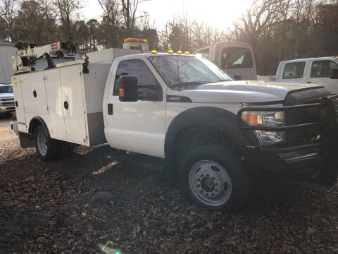 2015 Ford F-550 Super Duty for sale at M & W MOTOR COMPANY in Hope AR