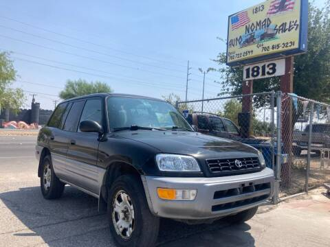 2000 Toyota RAV4 for sale at Nomad Auto Sales in Henderson NV