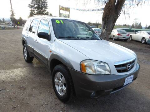 2001 Mazda Tribute for sale at VALLEY MOTORS in Kalispell MT