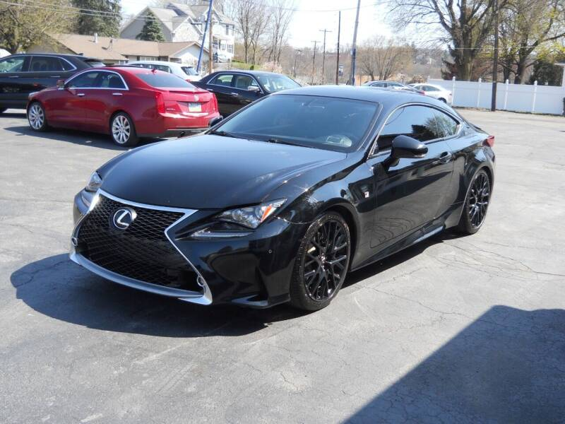 2015 Lexus RC 350 for sale at Petillo Motors in Old Forge PA