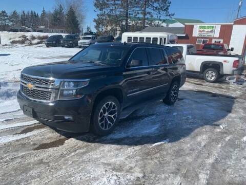 2015 Chevrolet Suburban for sale at Four Boys Motorsports in Wadena MN