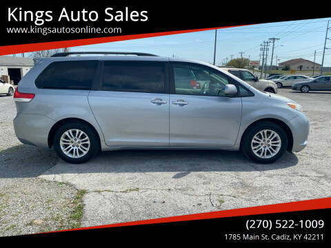 2011 Toyota Sienna for sale at Kings Auto Sales in Cadiz KY