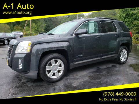 2013 GMC Terrain for sale at A-1 Auto in Pepperell MA