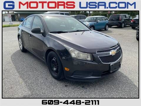 2014 Chevrolet Cruze for sale at G Motors in Monroe NJ