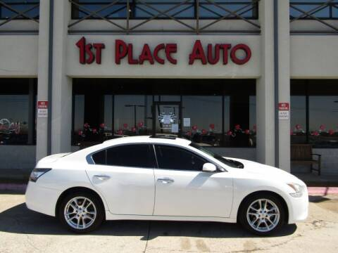 2013 Nissan Maxima for sale at First Place Auto Ctr Inc in Watauga TX