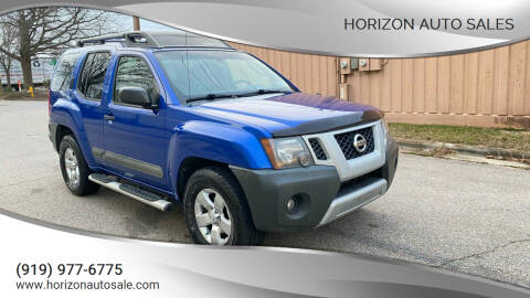 2012 Nissan Xterra for sale at Horizon Auto Sales in Raleigh NC