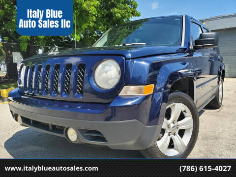 2014 Jeep Patriot for sale at Italy Blue Auto Sales llc in Miami FL