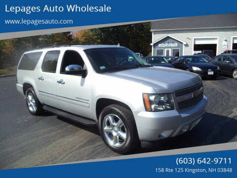 2014 Chevrolet Suburban for sale at Lepages Auto Wholesale in Kingston NH
