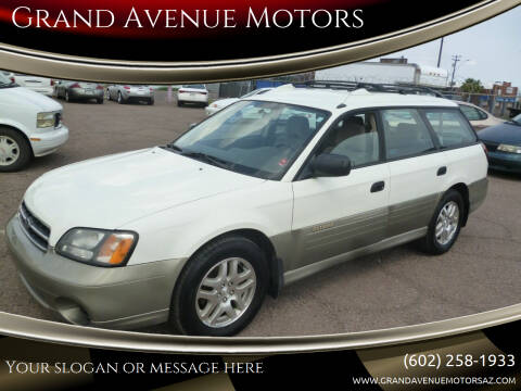 2001 Subaru Outback for sale at Grand Avenue Motors in Phoenix AZ