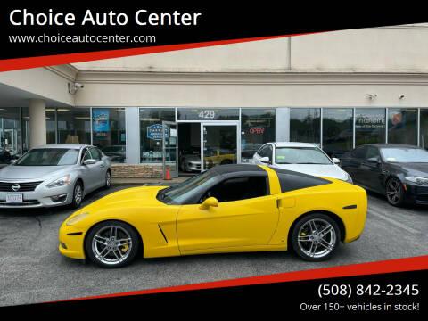2007 Chevrolet Corvette for sale at Choice Auto Center in Shrewsbury MA