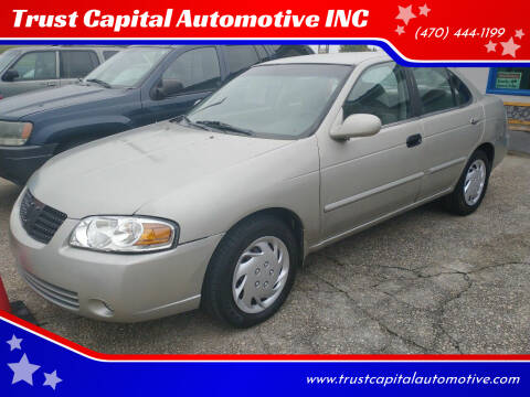 2004 Nissan Sentra for sale at Trust Capital Automotive Inc. in Covington GA