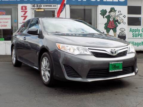 2014 Toyota Camry for sale at Village Motor Sales in Buffalo NY