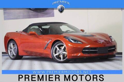 2015 Chevrolet Corvette for sale at Premier Motors in Hayward CA