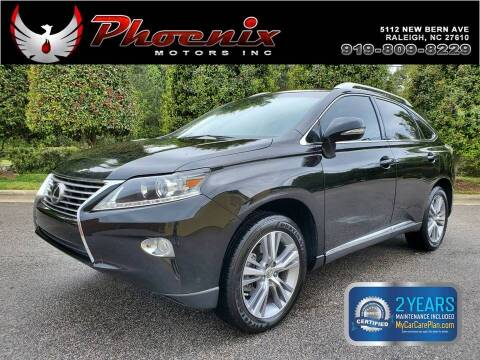 2015 Lexus RX 350 for sale at Phoenix Motors Inc in Raleigh NC