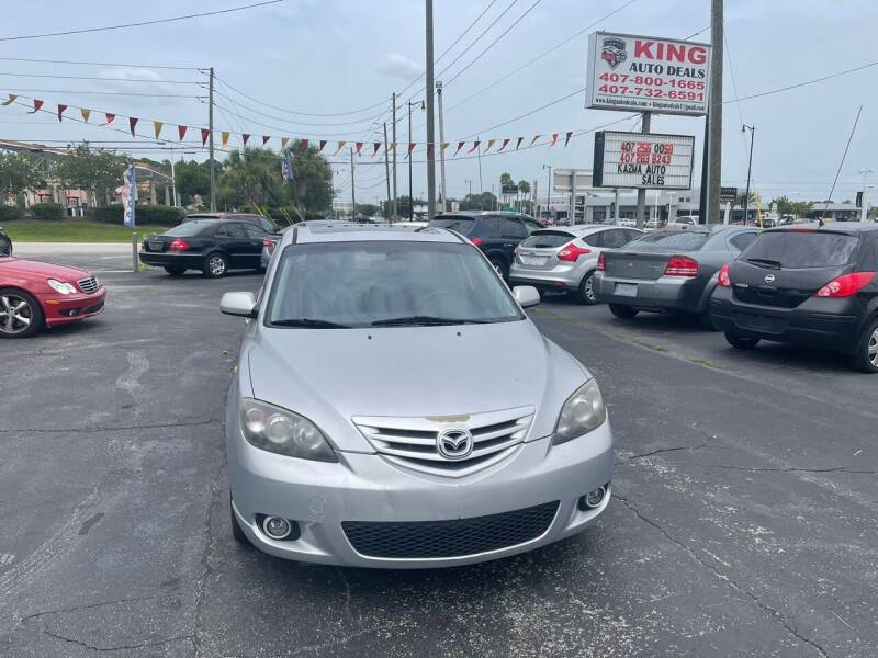 2004 Mazda MAZDA3 for sale at King Auto Deals in Longwood FL