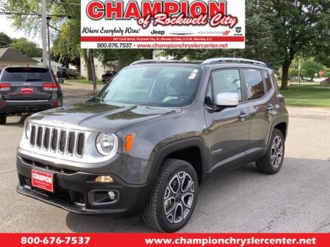 2018 Jeep Renegade for sale at CHAMPION CHRYSLER CENTER in Rockwell City IA