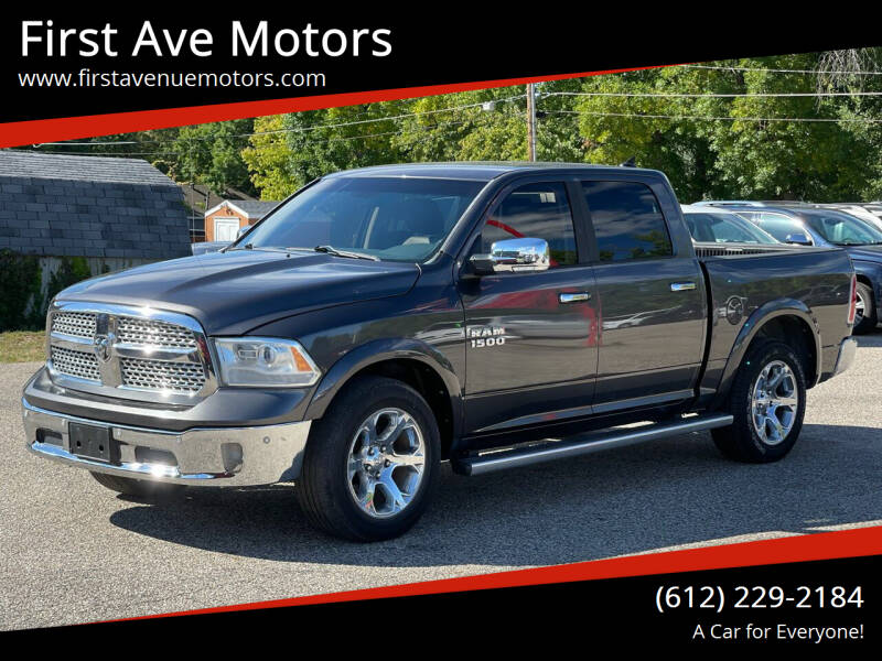 2015 RAM Ram Pickup 1500 for sale at First Ave Motors in Shakopee MN