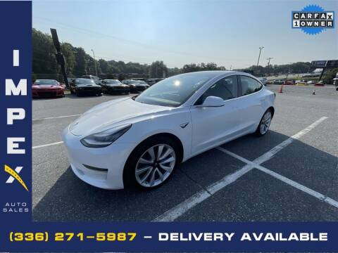 2020 Tesla Model 3 for sale at Impex Auto Sales in Greensboro NC