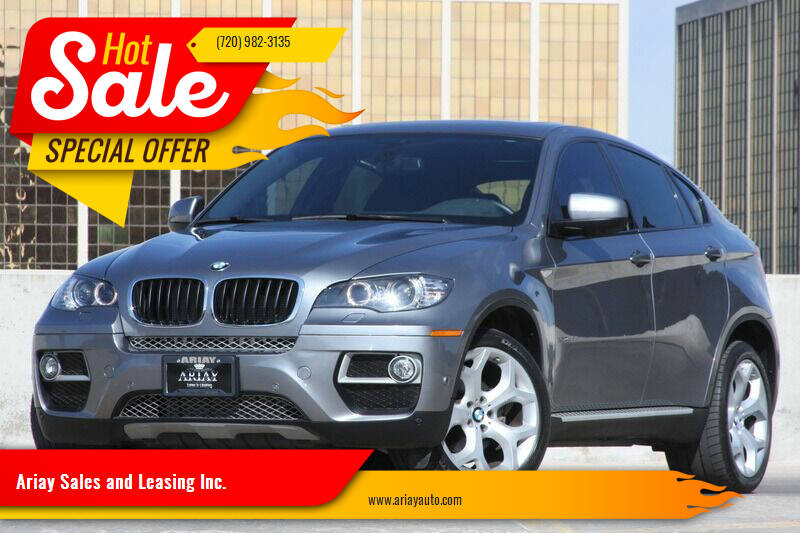 2014 BMW X6 for sale at Ariay Sales and Leasing Inc. in Denver CO