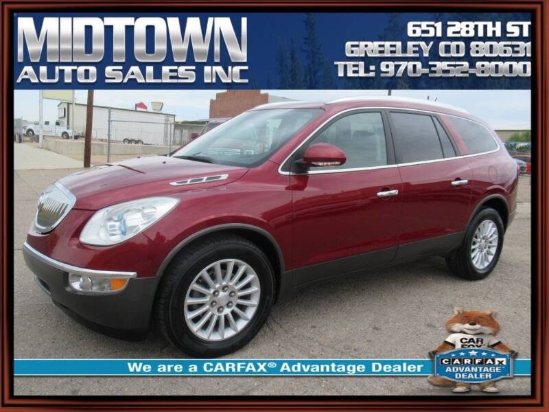 2011 Buick Enclave for sale at MIDTOWN AUTO SALES INC in Greeley CO