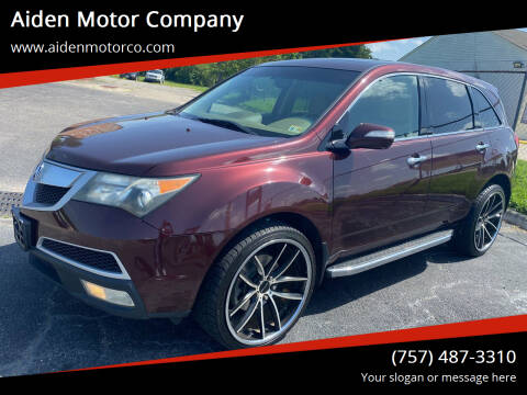 2010 Acura MDX for sale at Aiden Motor Company in Portsmouth VA