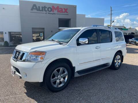 2012 Nissan Armada for sale at AutoMax of Memphis - V Brothers in Memphis TN