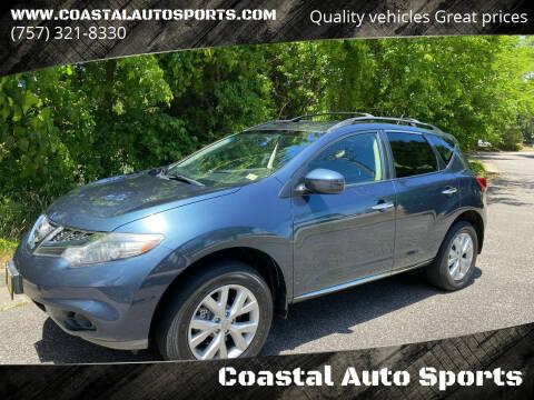 2013 Nissan Murano for sale at Coastal Auto Sports in Chesapeake VA